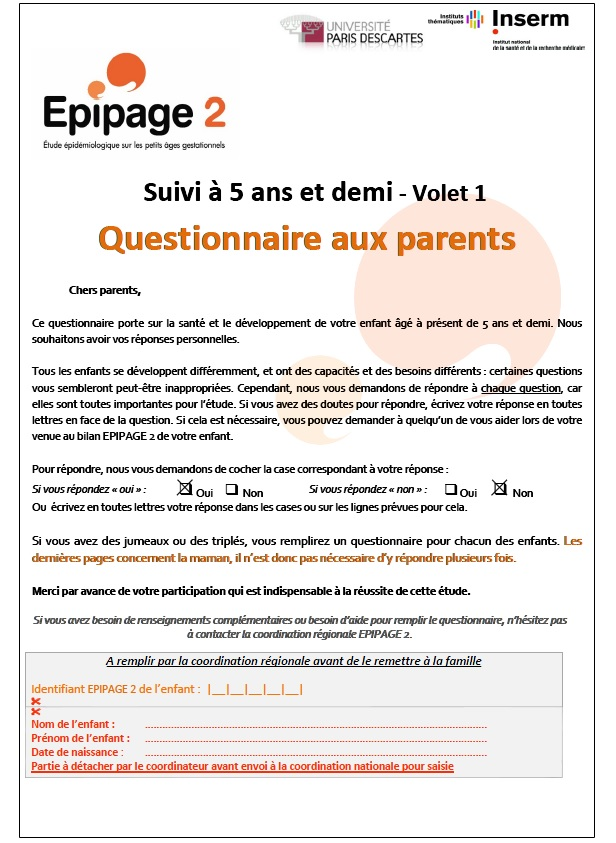 Q parents 5 ans